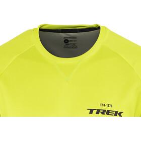 Bontrager Rhythm Fietsshirt korte mouwen Heren geel/zwart